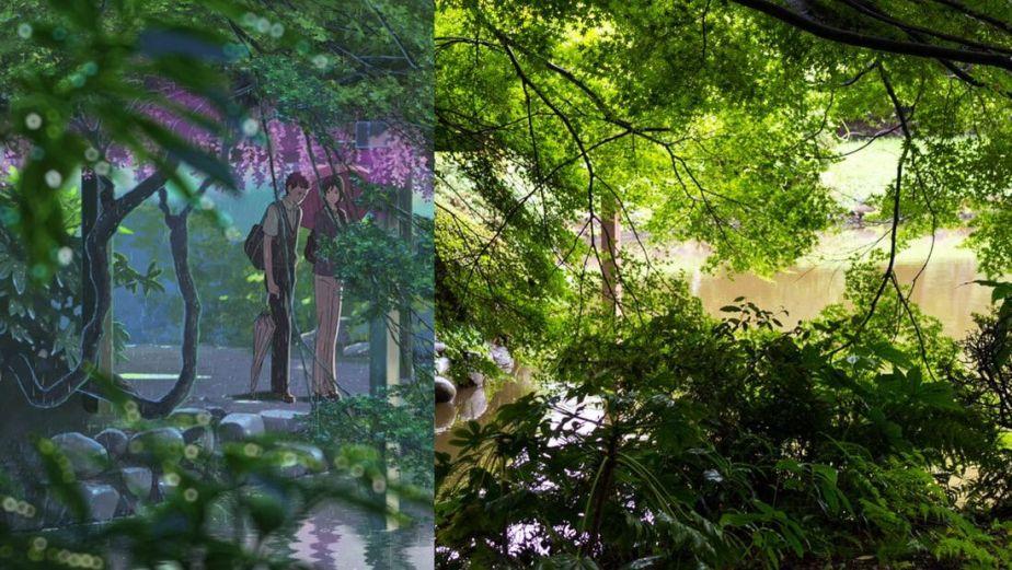 Anime Pilgrimage #6: Garden ofWords