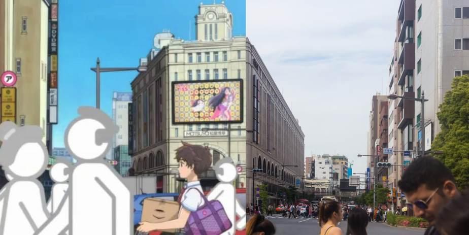Anime Pilgrimage #1:Sarazanmai
