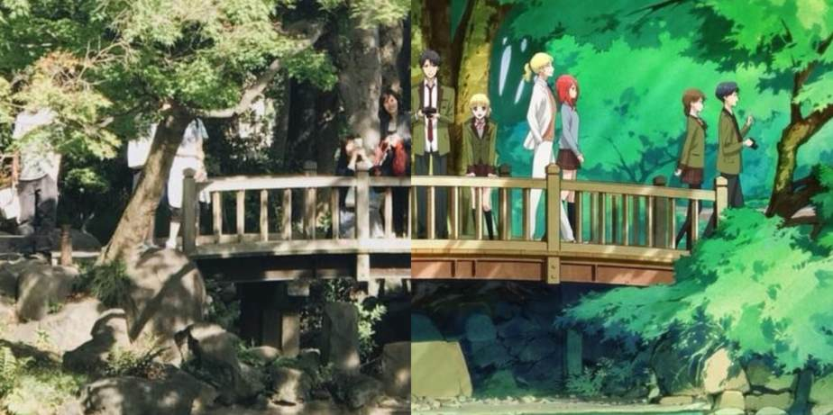 Anime Pilgrimage #11: Tada-kun Never Falls in Love (Sakuradamon,Ginza)